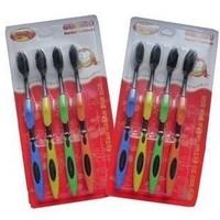 Sale 2014 Nano Fiber Toothbrush Personal Care Interdental Teeth brushes Oral Hygiene Korea Bamboo charcoal toothbrush 12pcs/lot