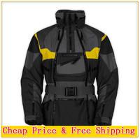 Free Shipping 2014 SoftShell Winter Ski Jacket Outdoor Men Cotton 3 in 1 Jacket Waterproof Windproof Breathable Sportswear S-XXL