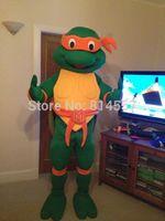 2014 New Teenage Mutant Ninja Turtles Tortoise Mascot Costume Halloween gift Mascot costume characters Fancy dress hot sale