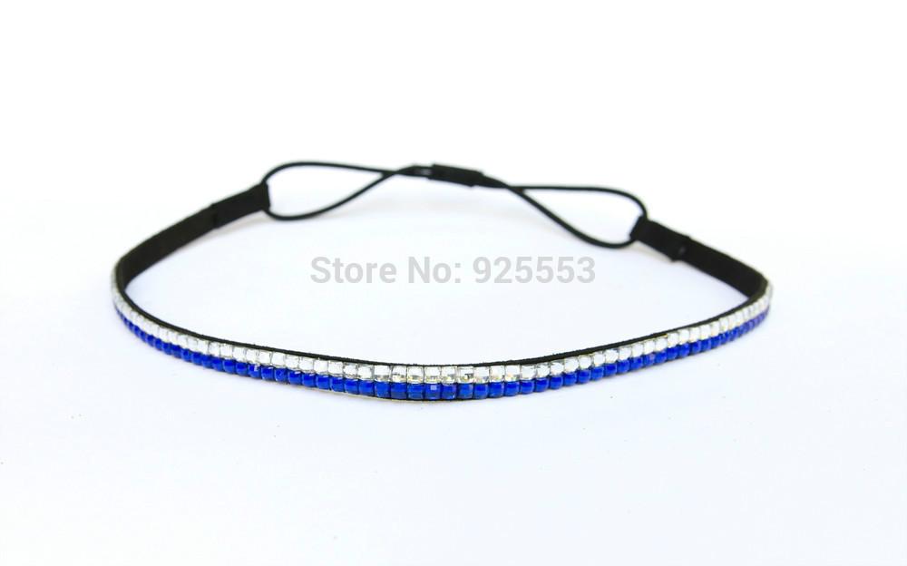 Beautiful 10per per lot Rhinestone Hair band, Bling Crystal elastic headband(China (Mainland))