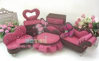 Furama expensive Yi Jin Sibu European mini furniture furniture princess jewelry box / jewelry storage