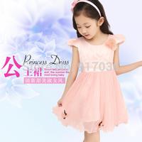 Children's clothing han edition princess girls 2014 new summer veil bitter fleabane wedding dress