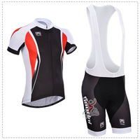 2014 Santini Cycling Jersey(maillot)+Bib Short(Culotte) Or Sportswear/Made From High Quality Polyester And Lycra/Size S-5XL