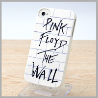 New 2014 Arrival Case For iPhone 4 4S 4G Ultra Thin Hard PC Cover Skin With Screen Protector Rock Band Pink Floyd