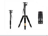 "New Q-999S SLR camera tripod,professional portable camera tripod,Max:57.5"""