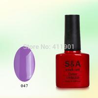 Free shipping(28pcs/lot-24colors +2base+2top) 100% EU quality easy off nail gel uv&led gel nail polish,manufacturer price