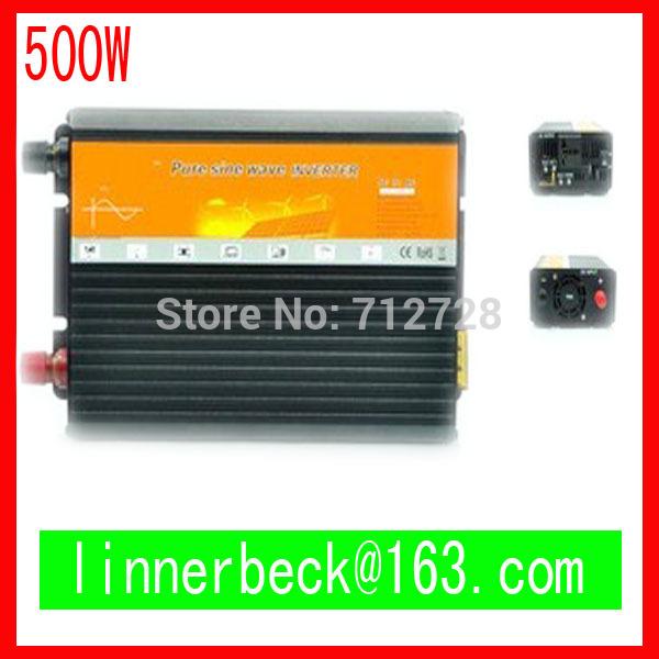 Pure sine wave inverter 500W 110/220V 48VDC, CE & ROHS certificate, PV Solar Inverter, Power inverter, Car Inverter Converter(China (Mainland))