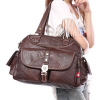 Women's bags fashion new arrival 2014 messenger bag handbag large bag women's handbag