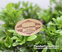 Wholesale 800Pcs Oval Shape Hand Made Adhesive Sticker Gift Sticker 3.5*2.2cm , STK-174