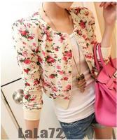 2014 Special Offer Hot Sale Freeshipping Fashion Full Cotton Asymmetric Length Appliques Open Stitch 1315 Chiffon Shirt Coat