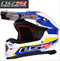 Dakar Rally Champion Helmet!!2014 Newest 100% Genuine Fiberglass Motorcycle Helmets Motocross Racing Capacete Casco Ls2 MX456