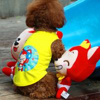Pet Dog Vest , Puppy  Clothing , Waistcoat, Cute Little Fox Design ,Summer Clothes For Dog Cat ,Pet Product