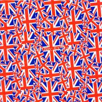 United Kingdom flag -Water Transfer Printing Hydro Graphics Film -England flag GWN226 Width: 50CM