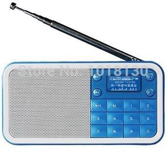 Original New PANDA DS-186 2.0 channel Mini Card Speaker / Lyrics Display Free Shipping(China (Mainland))