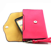 Luxury retro color flip phone bags wallet leather wallet for HTC Desire VC T328d Free Shipping