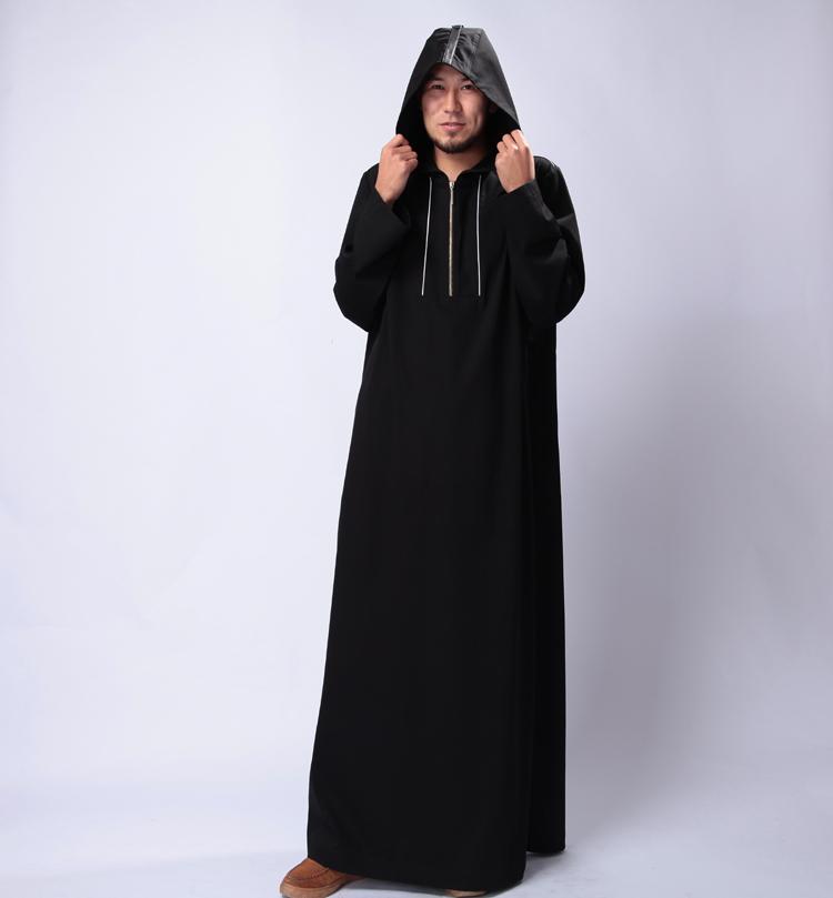 Wholesale Mens Summer Bamboo Kaftans Abayas Moslem Long Clothing Robes Saudi Turkish Arab XXL For Oman Thobes Arabia(China (Mainland))