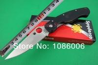 Free shipping Spyderco C36GPE CPM-S30V Blade Black G10 Handle Folding Knife