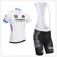 Cool! 2014 tour de italy cycling jersey/cycling wear/cycling clothing shorts (bib) suit-Merida-blue Color 2A Free shipping
