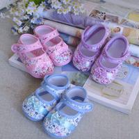B baby girls boys kids children child shoes anti-slip pre-walker first walker infant soft newborn 10.5+11+12cm 3pairs/lot