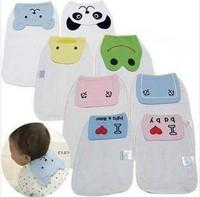 New Arrival Wholesale 20pcs/lot Baby Sweat Towel, Back Sweat Towel Gauze Washcloth Baby Wipe Sweat Absorbing Towel