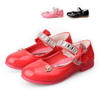 baby candy color TPR gum outsole princess sandals shoes child girls  children flats teenage footwear shinning sapato infantil