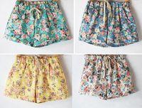 B floral casual hotpants beach running cycling shorts women pants capris fashion sportwear swimming girl stylish bike gym