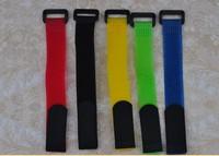 60 piece  Velcro Lipo Battery Strap Reusable Cable Tie Wrap 20*200