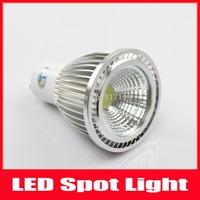 10PCS 5W GU10 AC100-240V Cool White/Warm White COB LED Dimmable Bulb Light Spot Light LED Light Lamp Epistar Free Shipping