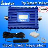 DCS 1800 Booster LCD Mobile Phone Signal Amplifier DCS1800 MHZ Home GSM1800 Repeater Amplifier 1 set