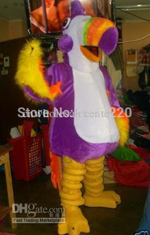 2014 alta qualidade pássaro tucano Águia Mascote Festa de Natal Costume Fancy Dress Outfit Suit(China (Mainland))