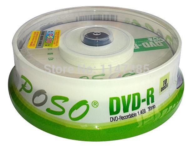 Wholesale 10discs/lot High Quality A+ POSO 3INCH Mini DVD-R Blank Discs 4X 1.4GB 30MIN 8CM DVDR DVD Recordable Disk Blank DVD R(China (Mainland))