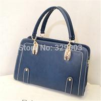 Free shipping ( blue ) England style  the restoring ancient ways   shoulder bag handbag reticule bag