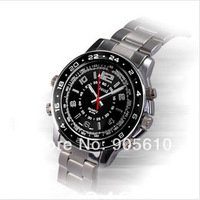 Super mini camcorders 480P Slim 8GB waterproof mp3 player watch camera wrist watch Video Recording Hidder DVR