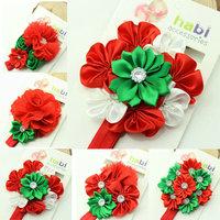 NEW 2014 baby  girl flower Headband   Newborn Headbands  children christmas gift  Headbandhair accessories