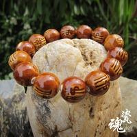 Male bracelet ceramic beads bracelet high temperature kiln jingdezhen handmade ceramic accessories male