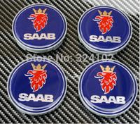 4pcs SAAB Wheel Center Caps 63mm