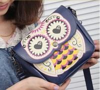 2014 new  shoulder bag  Messenger Owl mini stamp packet tide