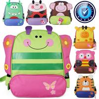 FREE SHIPPING!Hot children zoo backpack cute kids cartoon animal school bag kindergarten satchels mochila bolsas002