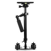 DHL/EMS/FedEx, Pro S60+ Plus 3.5kg 60cm Mini Handheld Stabilizer Steadycam Steadicam DSLR Camera