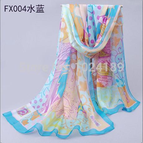 2014 slanting stripe cotton scarf women's winter thermal large long fashion cheap leopard print cotton scarf  shawls  190*70cm