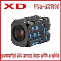 Free shipping FCB-EX1010 powerful 36x zoom lens with a wide high resolution mini zoom camera module/small PTZ camera module
