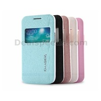 KLD Iceland II Series Window View Leather Case for Galaxy Trend 3 Core Plus G3500 / G3502 with 5 Colors
