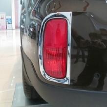 Free Shipping 2013 KIA Sorento ABS Chrome Rear Fog light Lamp Cover Trim