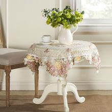cheap pink linen tablecloth