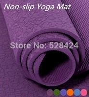 100% TPE Environmental and nontoxic  Non-slip Yoga Mat