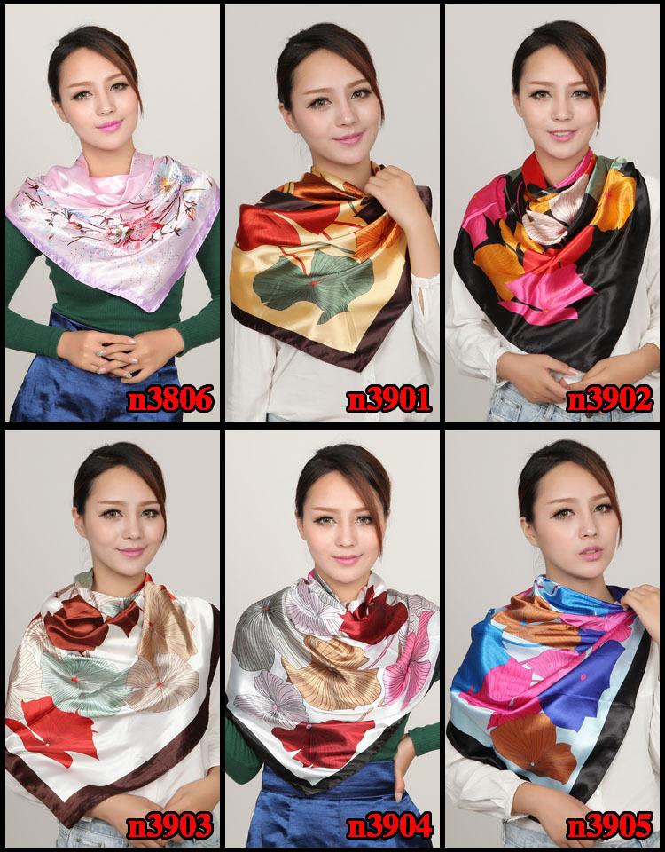 Женский шарф 90 x 90