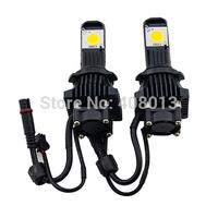 Free Shipping 12V/24V H4 Led Automotive Headlight Kit 50W Cree  Truck Car Led Head Lamp Conversion Kit For Fog Light Bulb