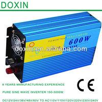 Factory Directly Selling Portable Inverter,Household Invertor Hybrid Off-Grid Pure Sine Wave DC To AC Inverter 12V 220V 600W