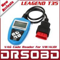 100% Original LEAGEND T35 FOR VW OBDII / EOBD VAG Code Reader QUICKLYNKS Auto Diagnostic tool 1 year warranty