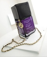 Free Shipping Free Shipping Japanese element modeling chain bag nail polish letter D stereoscopic handbags Shoulder Messenger
